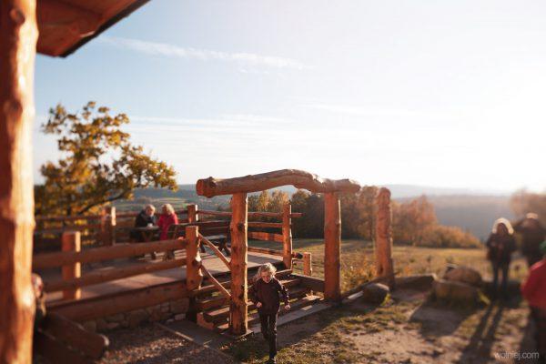Widoki z naszego tarasu na okolice Jamnej, Bukowca, Beskid i Tatry.